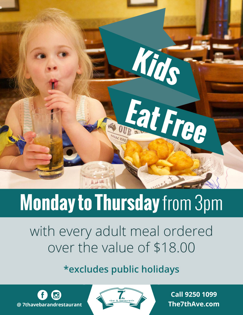 7thAve Kids Eat Free